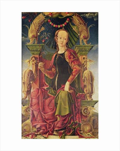 A Muse by Cosimo Tura