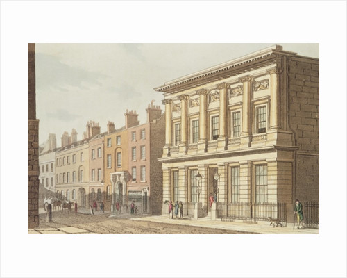 The London Commercial Sale Rooms by English School