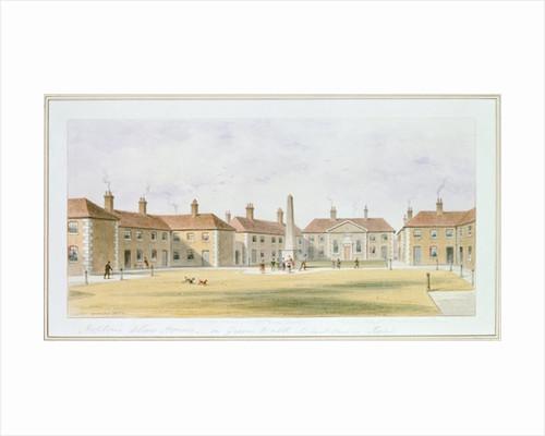 View of Charles Hopton's Alms Houses by Thomas Hosmer Shepherd