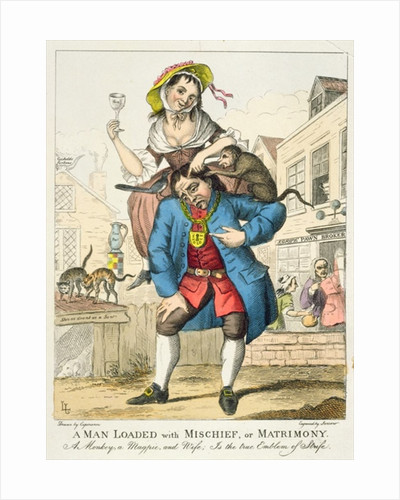 A Man Loaded with Mischief, or Matrimony by English School