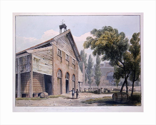 Messrs Beaufoy's Distillery, formerly Cuper's Gardens by George Shepherd