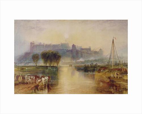 Windsor Castle, c.1829 by Joseph Mallord William Turner