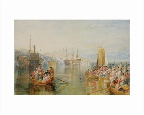 Saltash, Cornwall, 1825 by Joseph Mallord William Turner