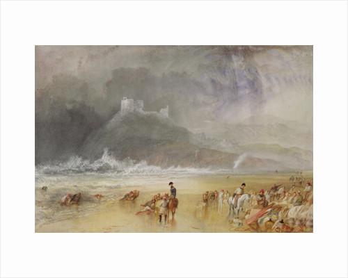 Criccieth Castle, North Wales, c.1835 by Joseph Mallord William Turner