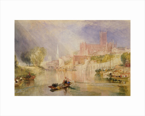 Worcester, c.1833 by Joseph Mallord William Turner