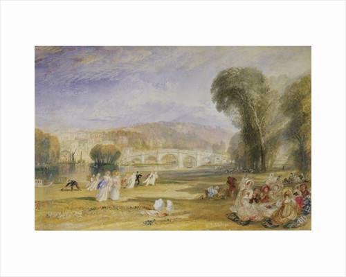 Richmond Hill and Bridge, Surrey, c.1828-9 by Joseph Mallord William Turner