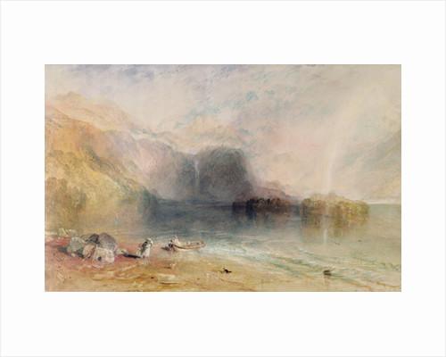 Keswick Lake, Cumberland, 1835 by Joseph Mallord William Turner