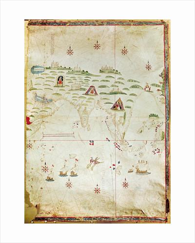 Map of the Moluccas by Nuno Garcia de Toreno