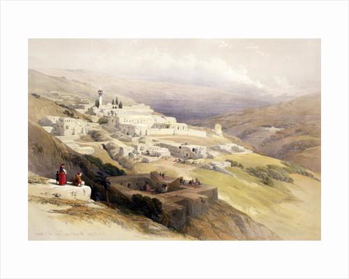 Convent of the Terra Santa, Nazareth by David Roberts