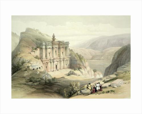 El Deir, Petra by David Roberts