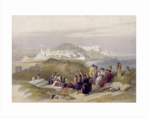 Jaffa, ancient Joppa by David Roberts