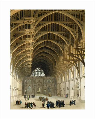 Westminster Hall by T. & Pugin