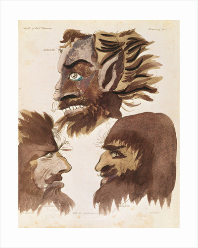 Astaroth, Abaddon and Mammon by Francis Barrett