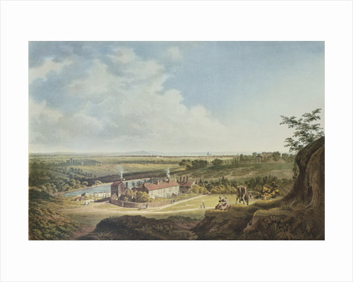 A View of Hampstead Heath Looking Towards London by Francis James Sarjent