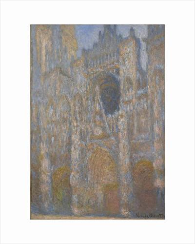 Rouen Cathedral, Facade, c.1892-94 by Claude Monet