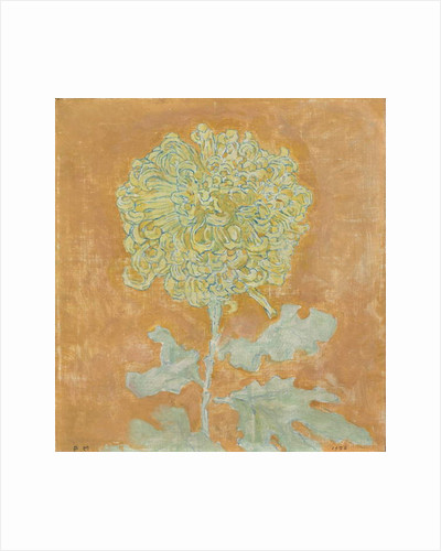 Chrysanthemum, 1906-1942 by Piet Mondrian