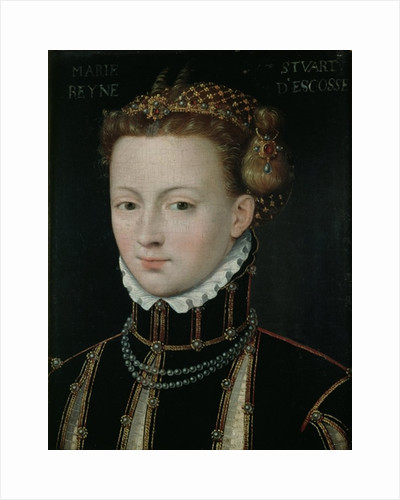 Mary Stuart by Francois Clouet