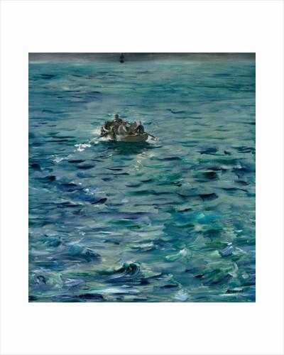 The Escape of Henri de Rochefort 20 March 1874 by Edouard Manet