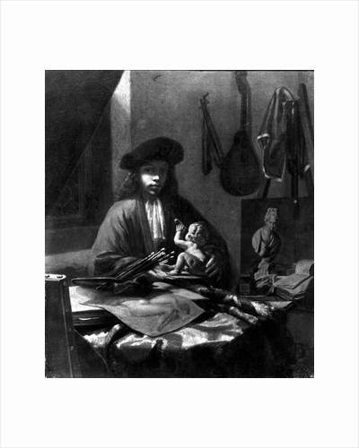 Portrait of a Young Artist by Michiel van Musscher
