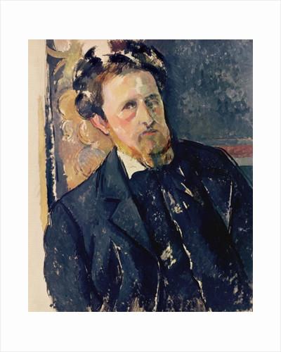 Portrait of Joachim Gasquet by Paul Cezanne