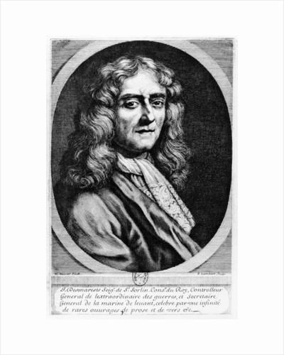 Jean Desmarets de Saint-Sorlin by Pierre Lombard or Lombart