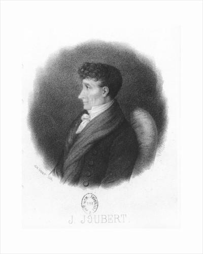 Joseph Joubert by Pierre-Charles Vogt