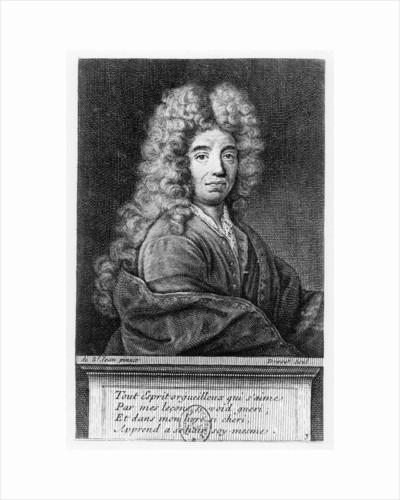 Jean de La Bruyère by Pierre Drevet