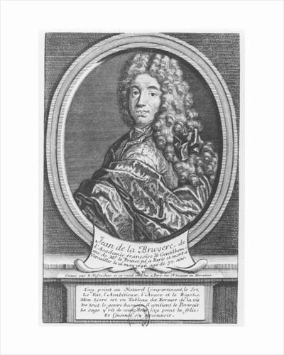 Portrait of Jean de La Bruyère by Etienne Jehandier Desrochers