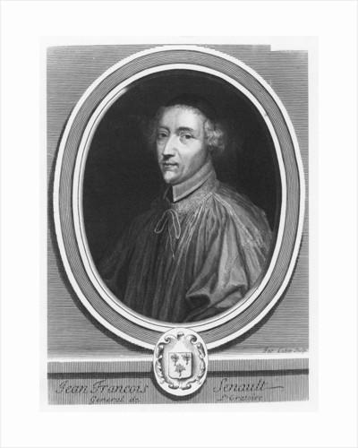 Portrait of Jean-François Senault by Jacques Lubin