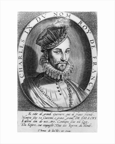 Charles IX, King of France by Thomas de Leu