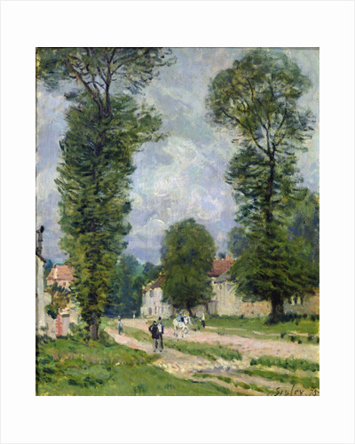 The Road to Marly-le-Roi, or The Road to Versailles by Alfred Sisley