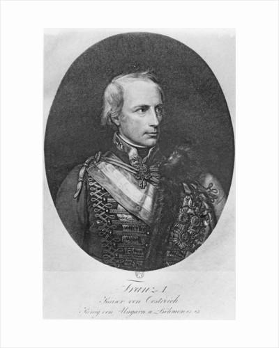 Francis I of Austria by Franz Xaver Winterhalter