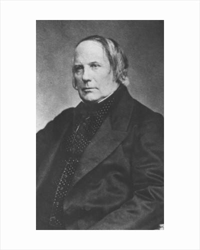 Portrait of Edgar Quinet by Pierre Petit