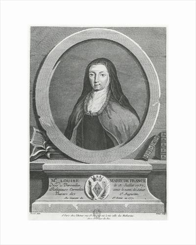 Louise-Marie de France by French School