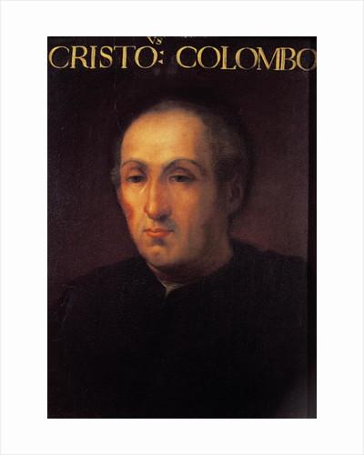 Portrait of Christopher Columbus by Italian School