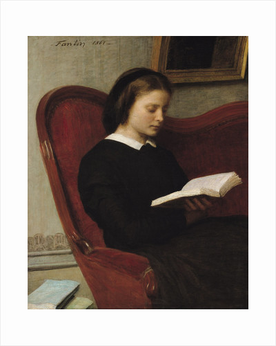The Reader by Ignace Henri Jean Fantin-Latour
