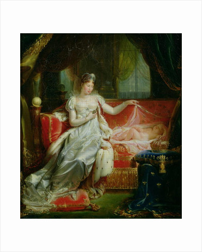 Empress Marie-Louise and the King of Rome by Joseph Franque