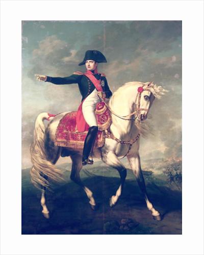 Equestrian Portrait of Napoleon I 1810 by Joseph Chabord
