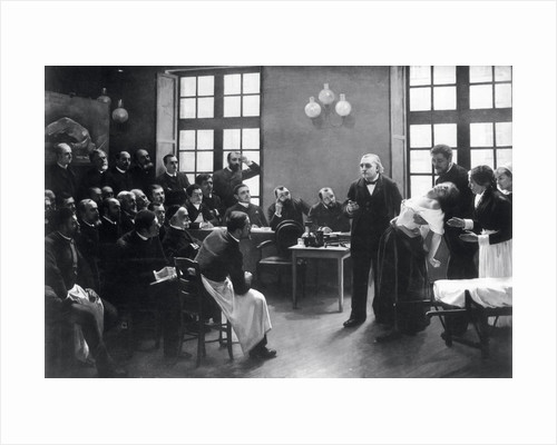 A Clinical Lesson with Doctor Charcot at the Salpetriere by Pierre Andre Brouillet