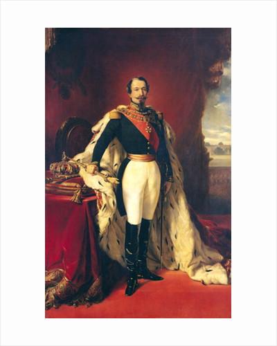 Portrait of Napoleon III Emperor of France by Franz Xaver Winterhalter