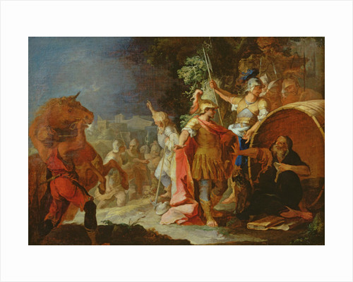 Alexander the Great and Diogenes by Pierre Paul Sevin