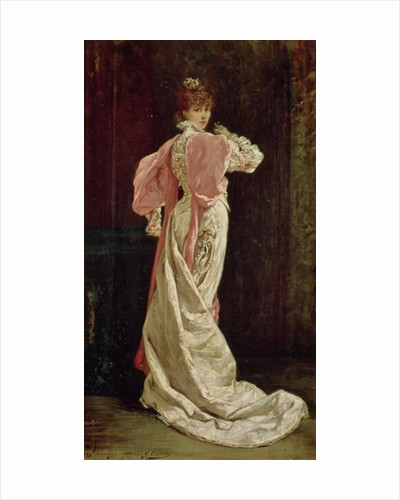 Sarah Bernhardt in the role of the Queen in 'Ruy Blas' by Victor Hugo by Georges Clairin