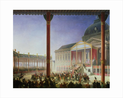Assembly of the Champ de Mai by Francois Joseph Heim