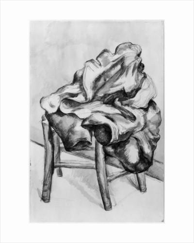 Drapery on a Chair by Paul Cezanne