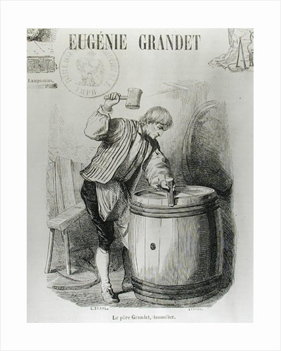 Father Grandet, the Cooper by Pierre Gustave Eugene Staal