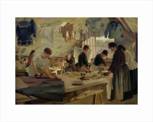 Ironing Workshop in Trouville by Louis Joseph Anthonissen