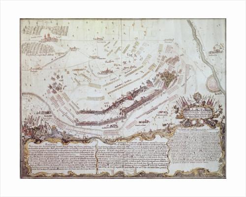 Battle of Kolin in Bohemia by Austrian School