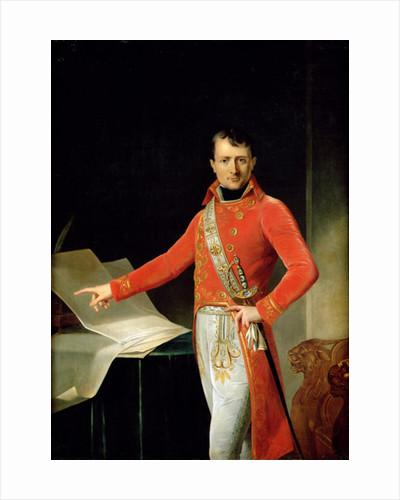 Portrait of Napoleon I by Anne Louis Girodet de Roucy-Trioson