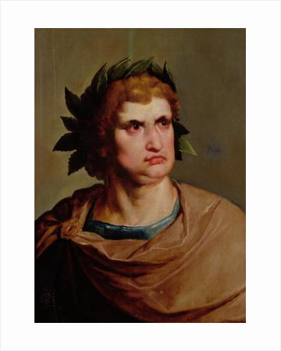 Roman Emperor, possibly Nero by Pieter Fransz. de Grebber