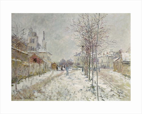 Snow Effect by Claude Monet